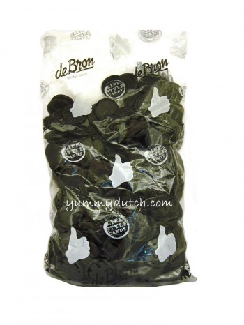 De Bron Sugar Free Coins Licorice