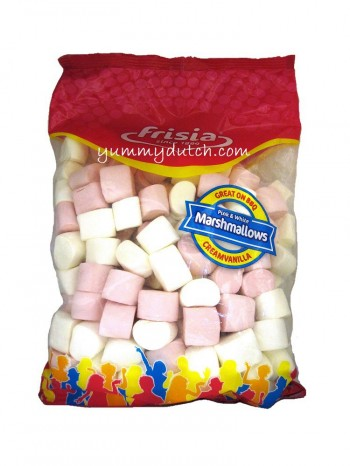 Frisia Pink & White Marshmallows Cream Vanilla