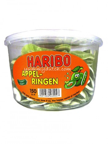 Haribo Apple Rings Fruit Gum Candy
