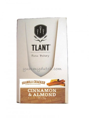 Tlant Granola Cracker Cinnamon & Almond
