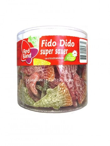 Red Band Fido Dido Super Sour