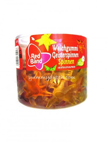 Red Band Fruit Gum Spiders