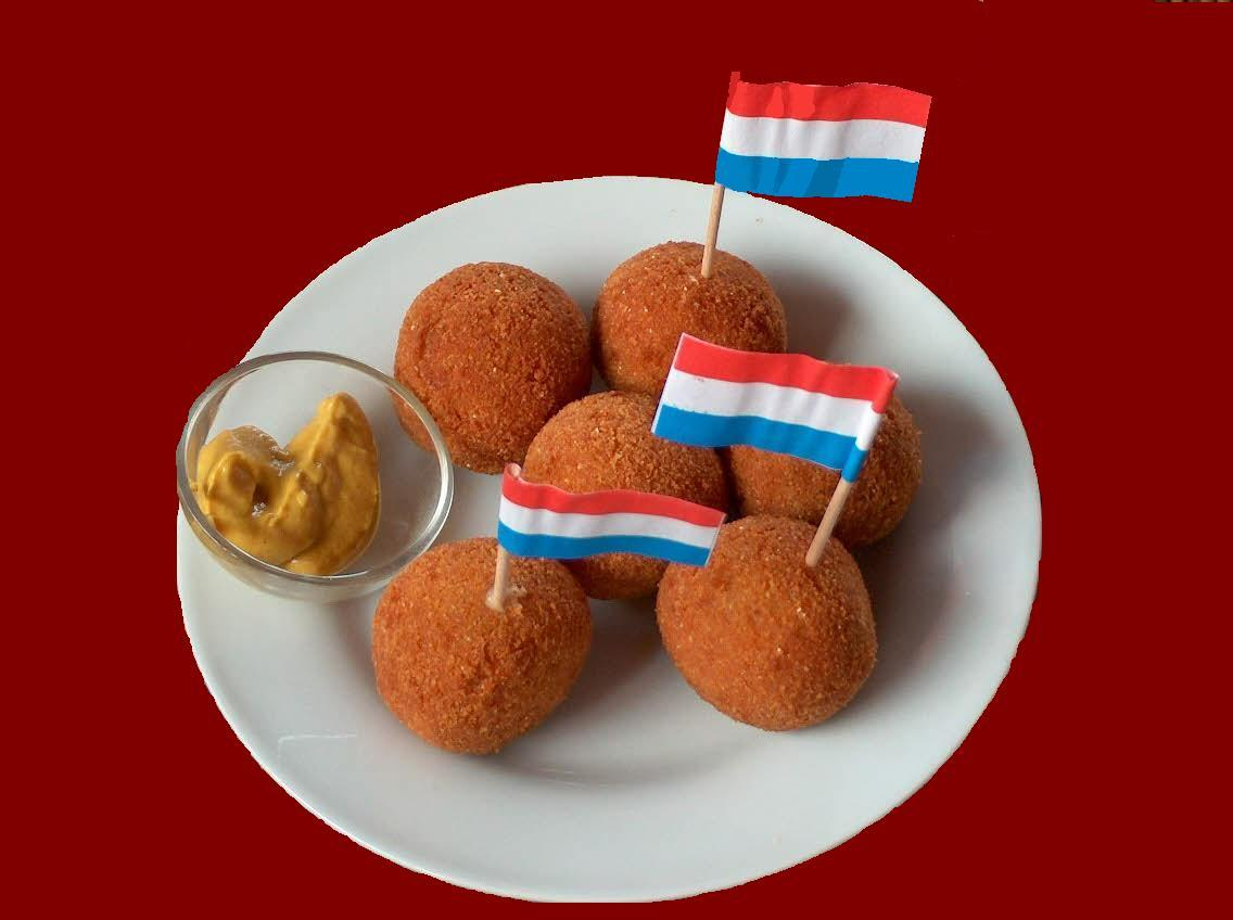 Recipe for home made bitterballen a tr yummy dutch - Snack eten ...